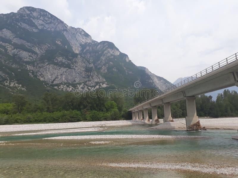 Bridżowy północny Włochy zdjęcia royalty free
