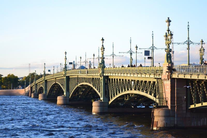 bridżowy Petersburg st trinity obrazy royalty free