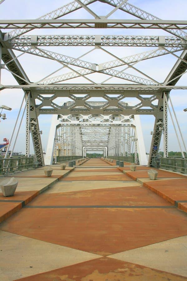 bridżowy pieszy fotografia stock