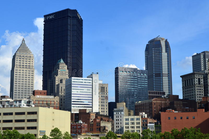 Bridżowy Pittsburgh zdjęcia royalty free