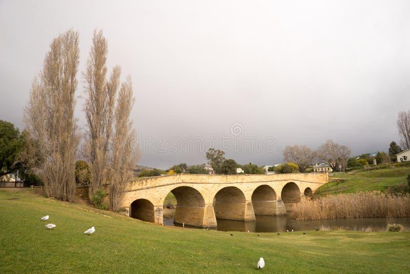 bridżowy Richmond Tasmania obrazy stock