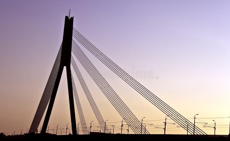 bridżowy Riga obraz royalty free