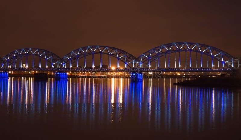 bridżowy Riga obrazy royalty free