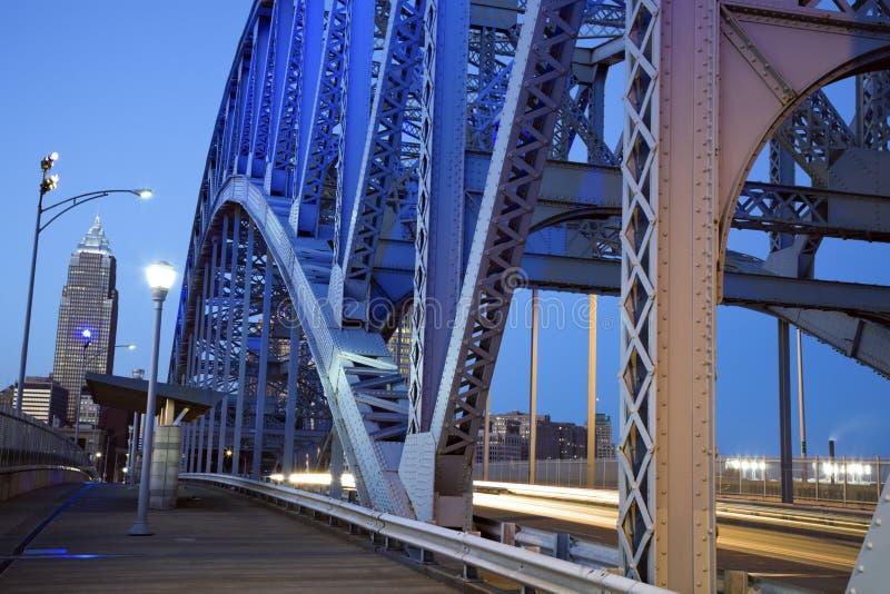 bridżowy ruch drogowy fotografia royalty free