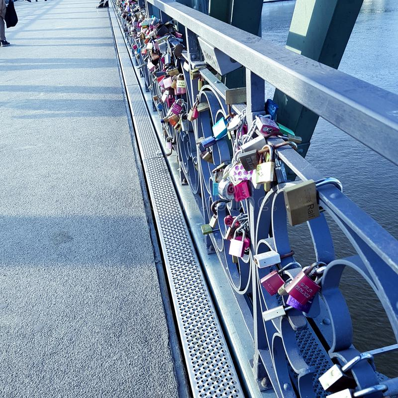 bridżowy schlösser zdjęcie stock