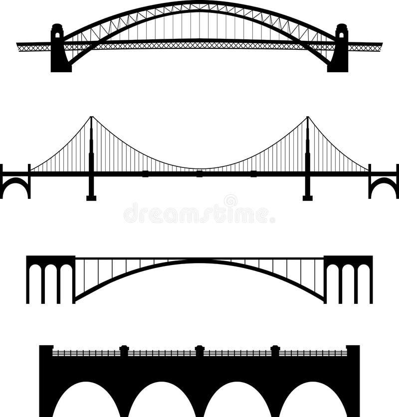 bridżowy set ilustracja wektor