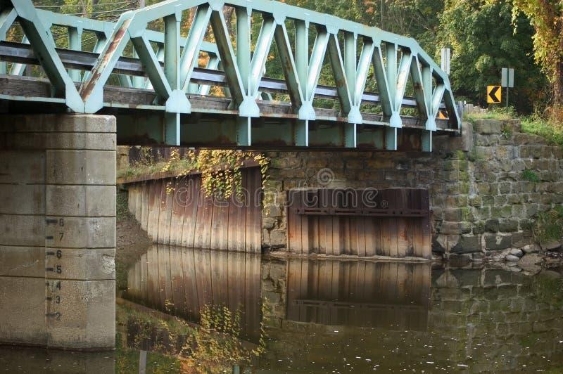 Download Bridżowi odbicia obraz stock. Obraz złożonej z cement, most - 29719