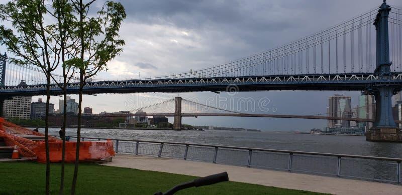 brid?owy Brooklyn Manhattan fotografia royalty free