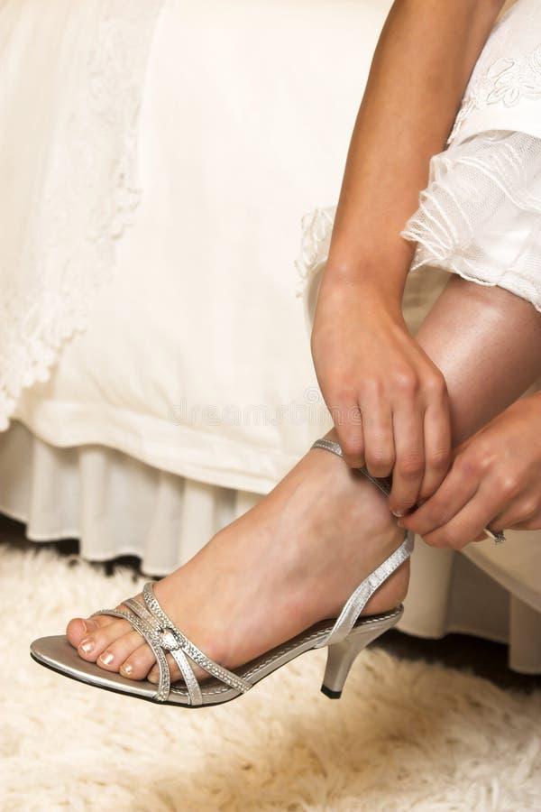 Bridal ботинки стоковые изображения