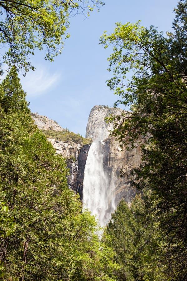 Bridal водопад вуали стоковая фотография