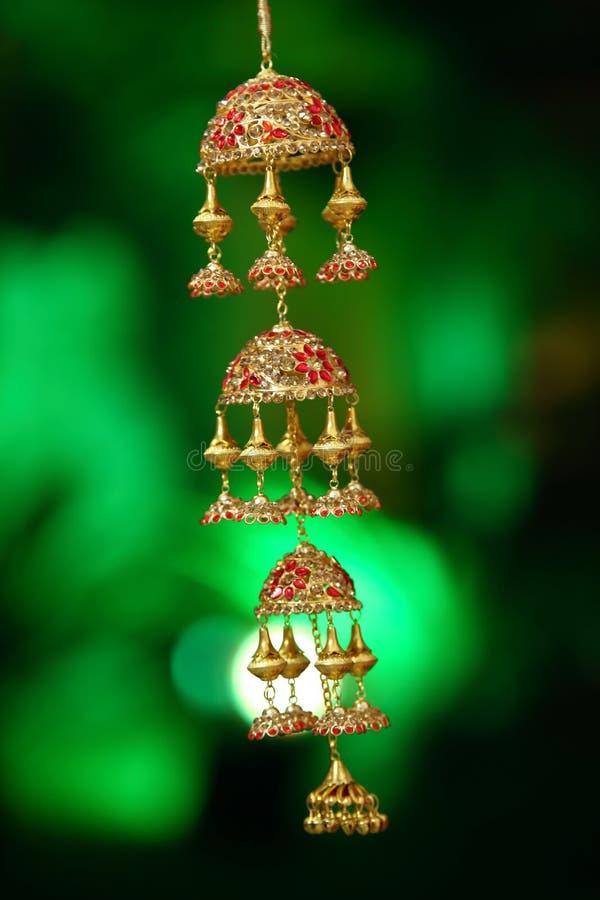 Bridal материал известный как Kaleerein в Индии стоковое фото