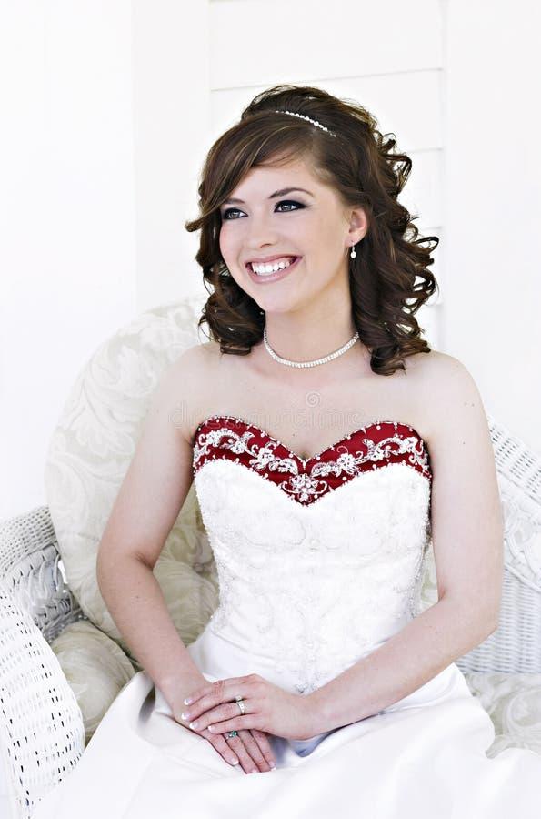 bridal портрет стоковая фотография rf