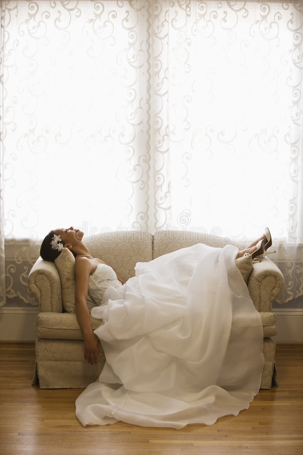 bridal портрет стоковое изображение rf