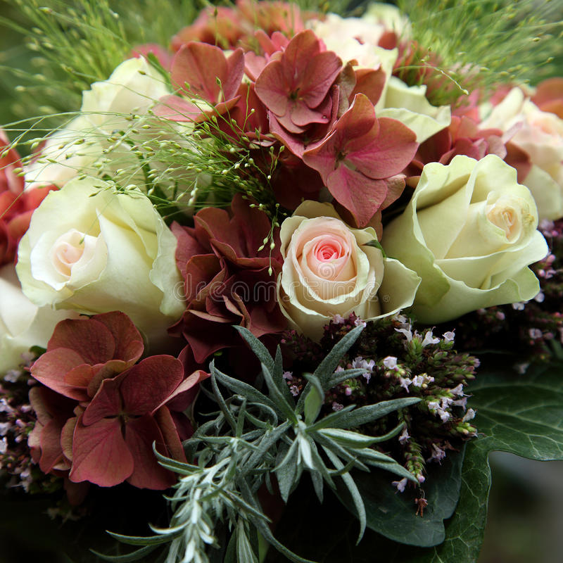 Download Bridal bouquet stock photo. Image of roses, flowers, biedemeijer - 15902850