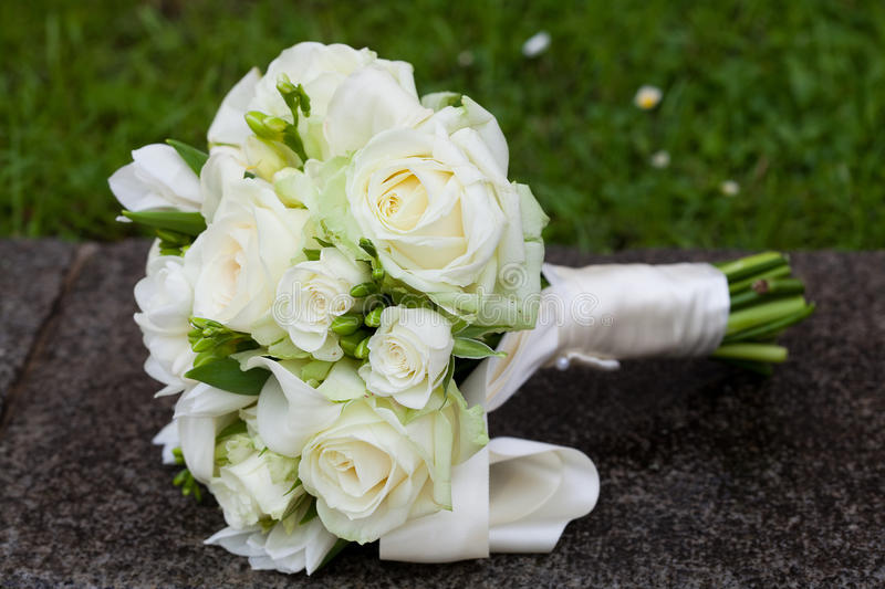 Bridal bouquet stock images