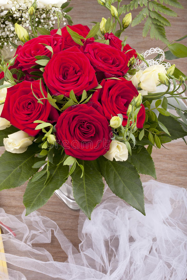 Download Bridal bouquet stock photo. Image of glass, closeup, home - 21012376