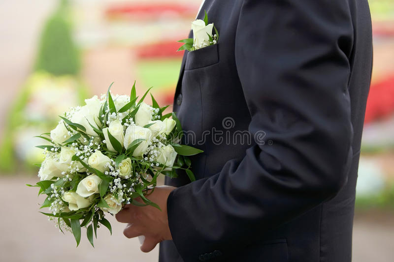 Download Bridal Bouquet stock photo. Image of celebration, married - 23776248