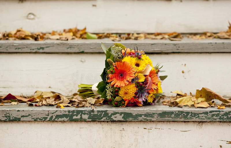 Download Bridal bouquet outside stock photo. Image of green, flowers - 27557724