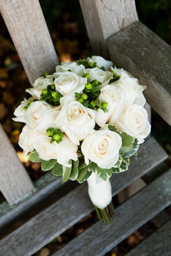 Bridal bouquets royalty free stock photography