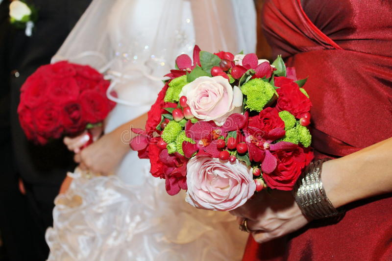Download Bridal bouquets stock image. Image of freshness, detailed - 32160433