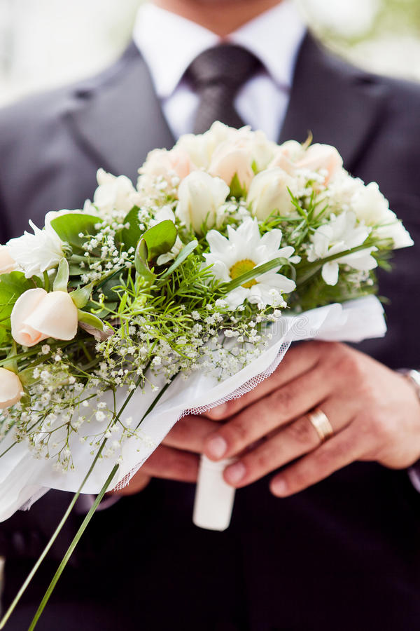 Bridal Bukiet Obraz Royalty Free