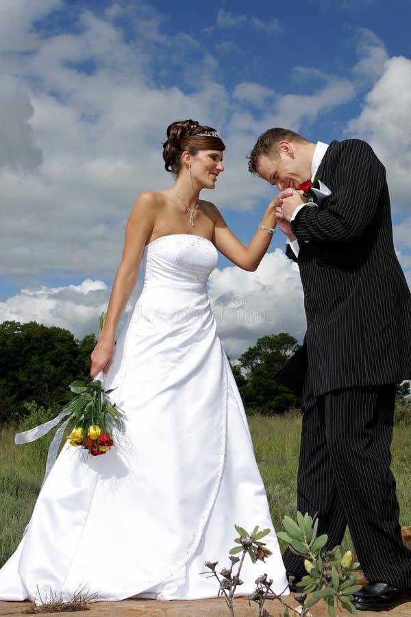 Bridal Couple royalty free stock photos