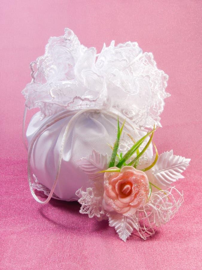 Bridal Dorothy Bag stock photography
