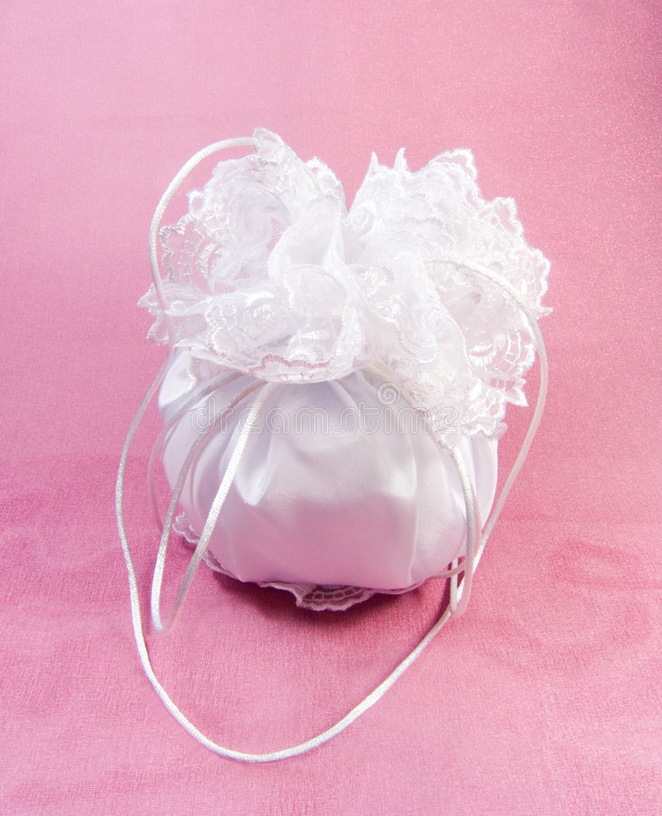 Bridal Dorothy Bag royalty free stock photos