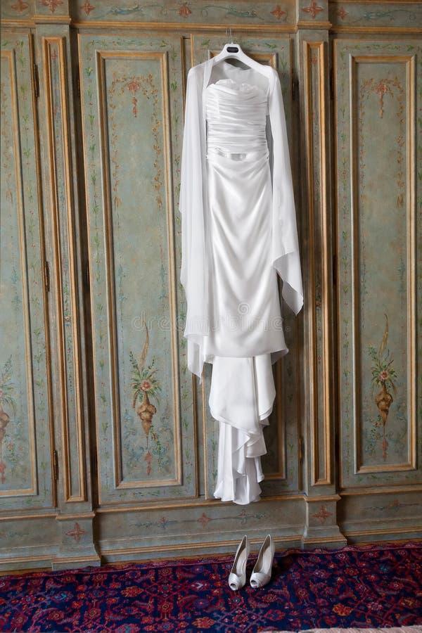 Bridal dress royalty free stock image
