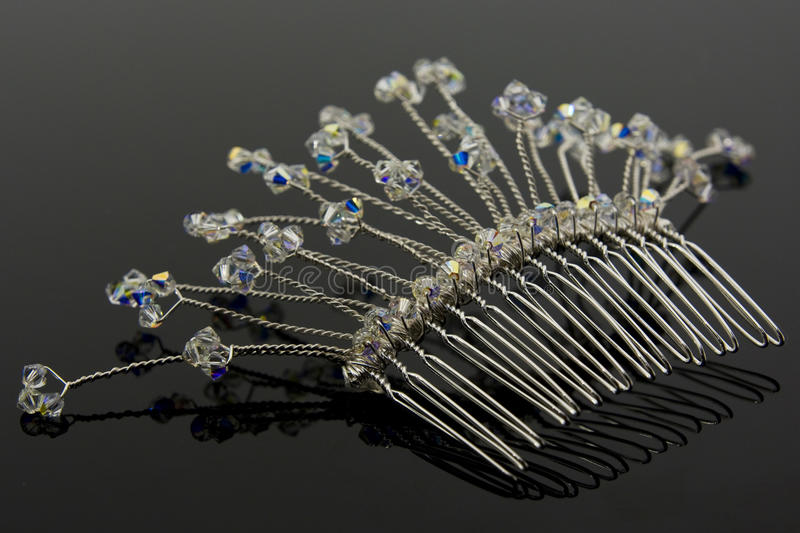 Download Bridal Hair Comb stock image. Image of salon, sparkly - 13529039