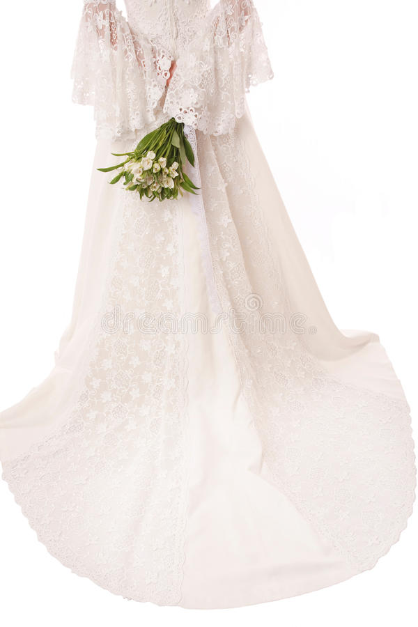 Bridal Lace Stock Image