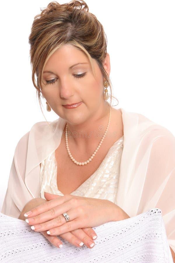 Bridal port looking at ring royalty free stock image
