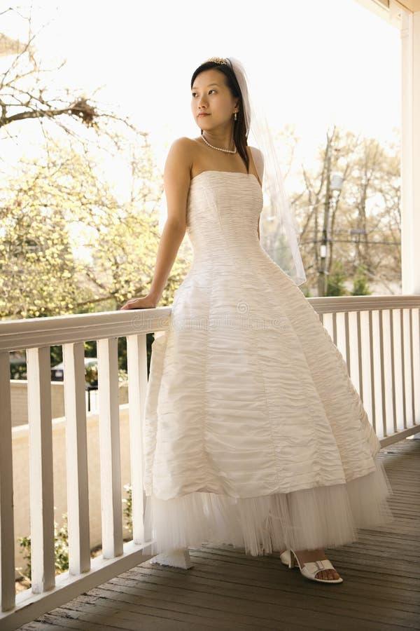 Bridal portrait. royalty free stock photo