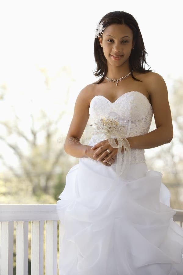 Bridal portrait. stock image