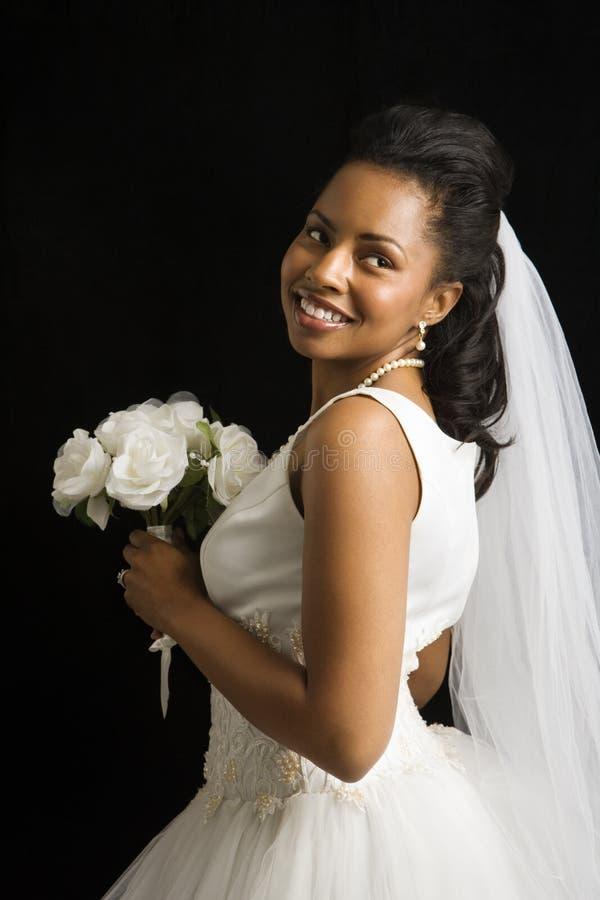 Bridal portrait. royalty free stock photos