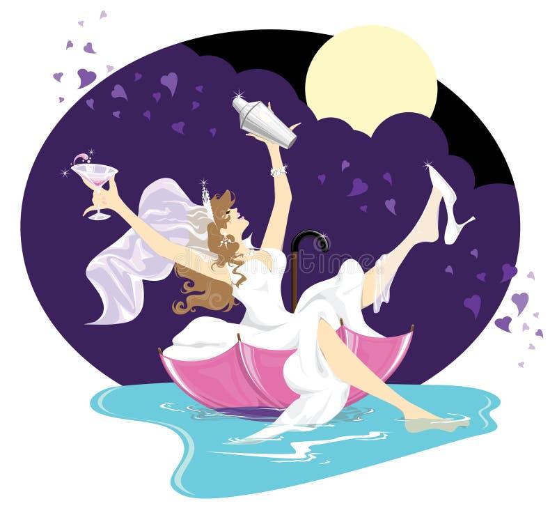 Download Bridal shower stock vector. Image of happy, moonlight - 10261128