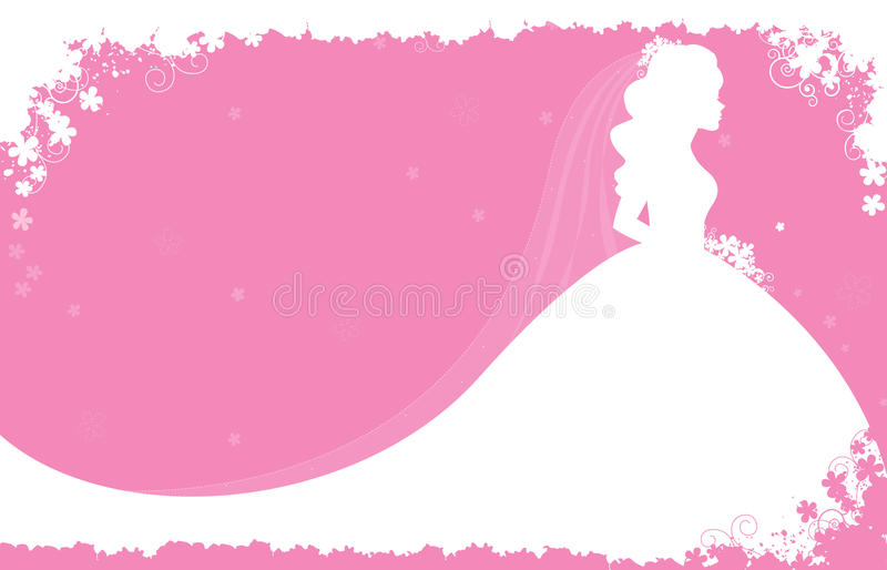 Download Bridal shower invitation stock vector. Image of female - 10634183