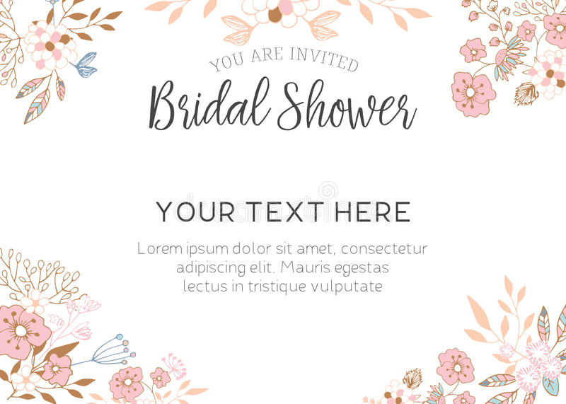 Bridal shower invitation stock illustration illustration of script download bridal shower invitation stock illustration illustration of script 74888309 toneelgroepblik