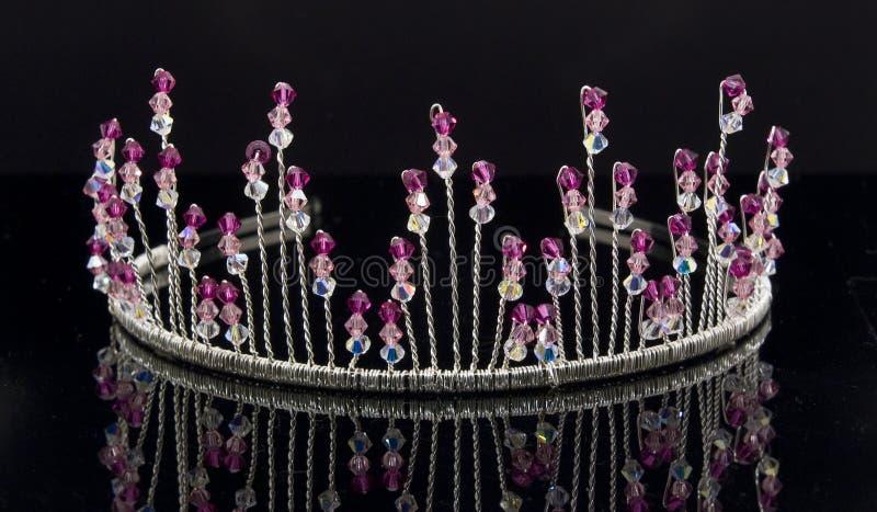 Bridal Tiara. An artistic photograph of a bridal tiara stock image