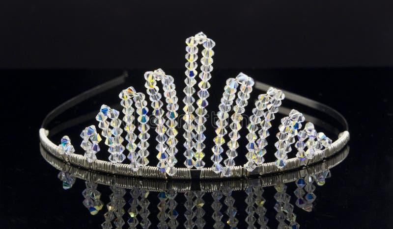 Bridal Tiara. An artistic photograph of a bridal tiara royalty free stock photos