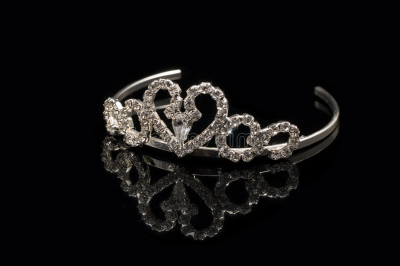Bridal tiara royalty free stock image