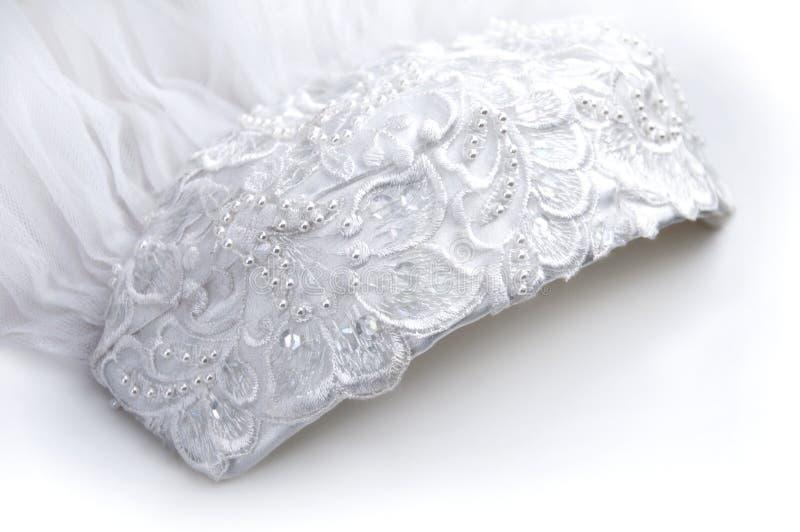 Download Bridal Veil stock image. Image of white, headdress, ornate - 4100907