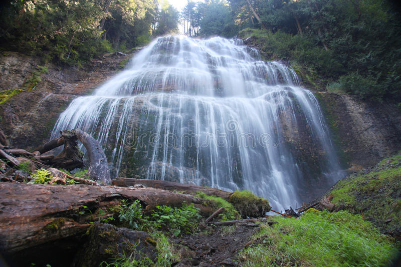 Bridal Veil Falls in Canada royalty free stock images