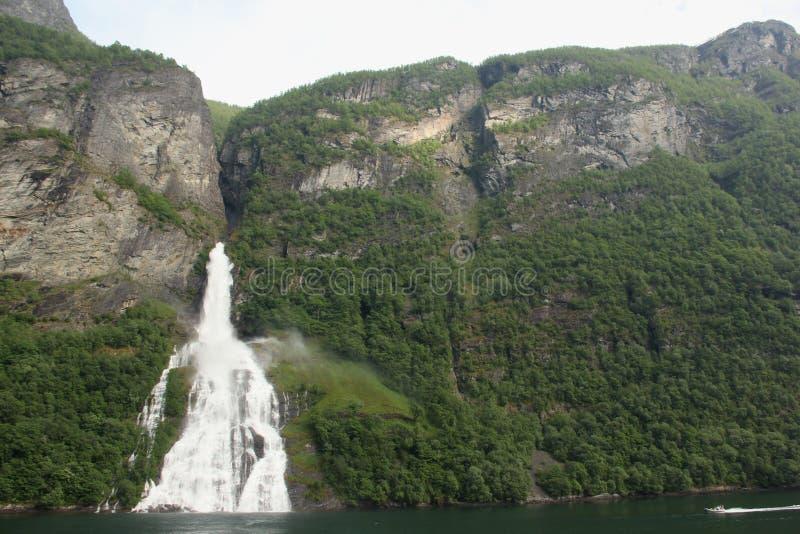 Bridal veil Falls stock image