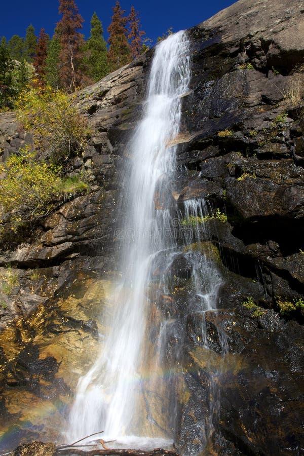Bridal Veil Falls - Rocky Mountain National Park Stock Images