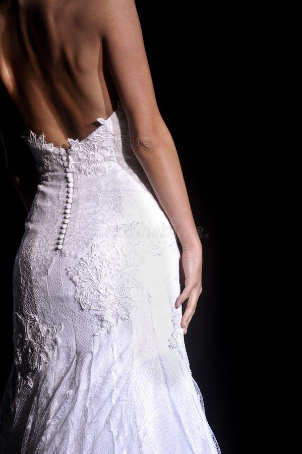 Bridal week Barcelona 2014 stock photos