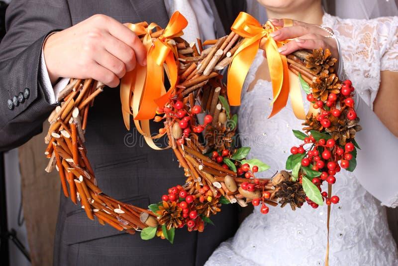 Bridal wreath stock photos