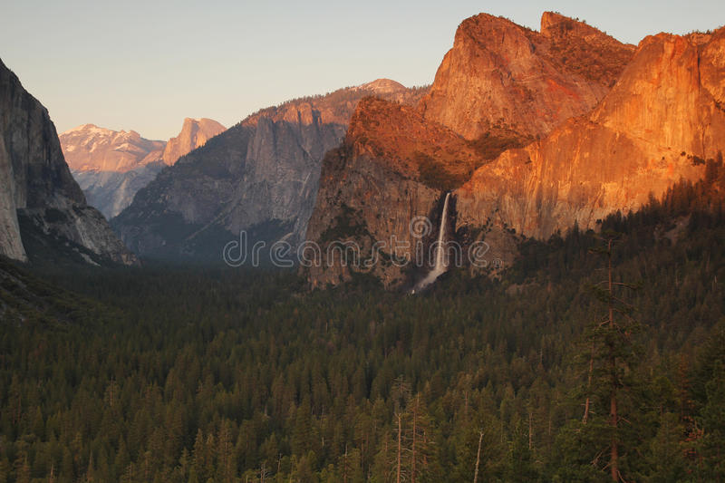 Download Bridalveil fall stock photo. Image of trees, fall, national - 33290532