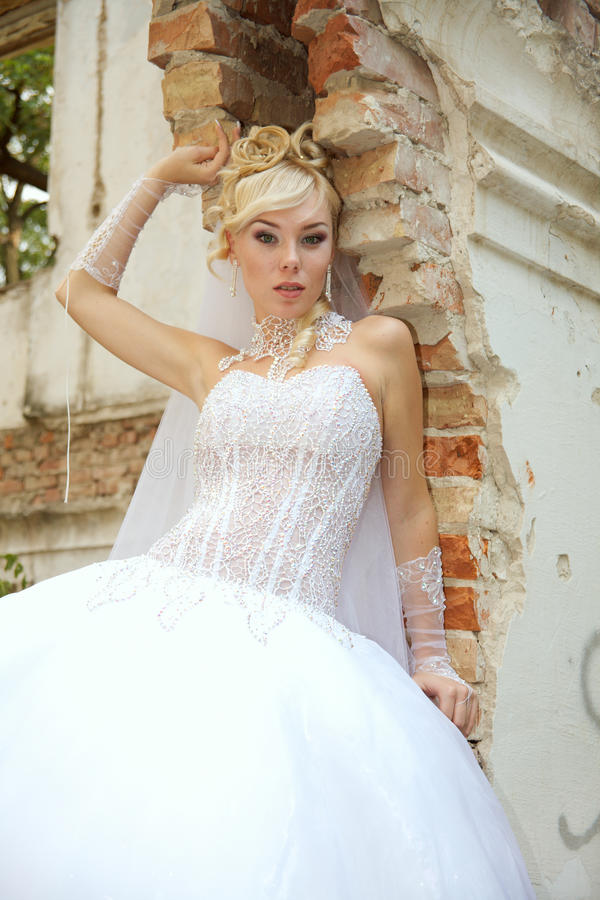 Download Bride stock image. Image of outdoors, home, beautiful - 10942439