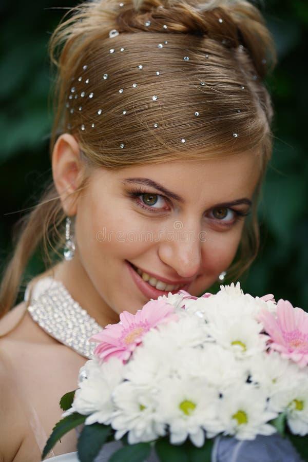 Download Bride stock photo. Image of dress, smile, kiss, makeup - 11770534